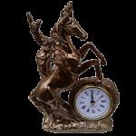 Необычные статуэтки с часами