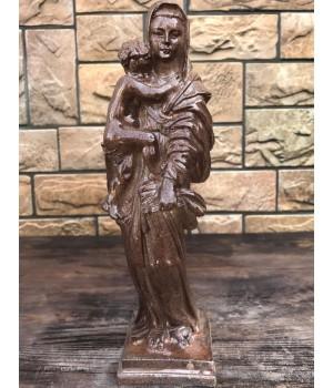 Статуэтка «Дева Мария стоит с младенцем»