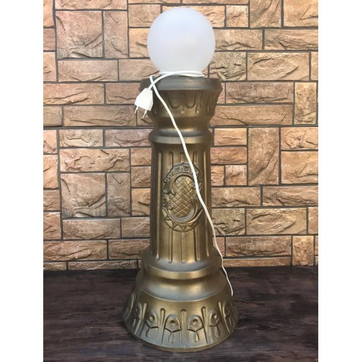 Колонна со светильником #2