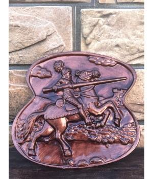 Статуэтка-панно «Рыцарь на коне»