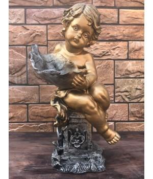 Статуэтка «Ангел с листком»