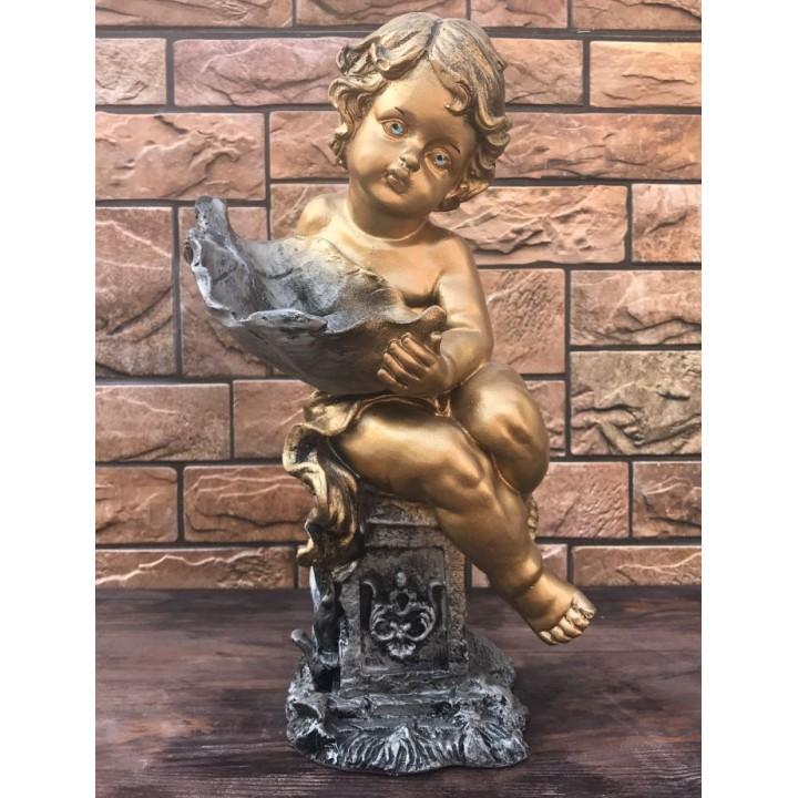 Статуэтка Ангел с листком