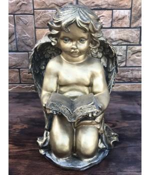 Статуэтка «Ангел читает книгу»