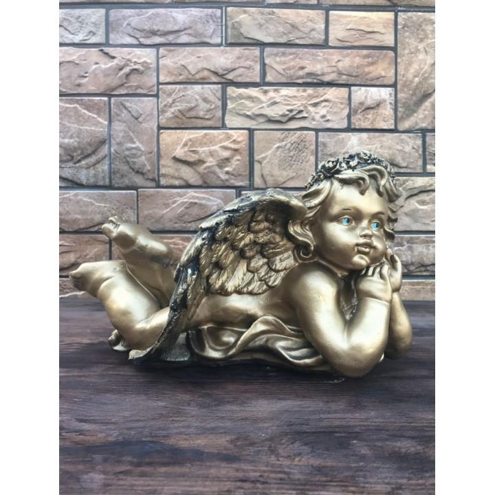 Статуэтка лежачего ангела #1