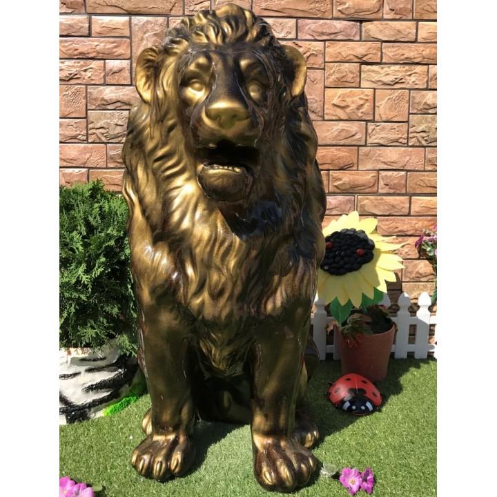 Садовая фигура льва