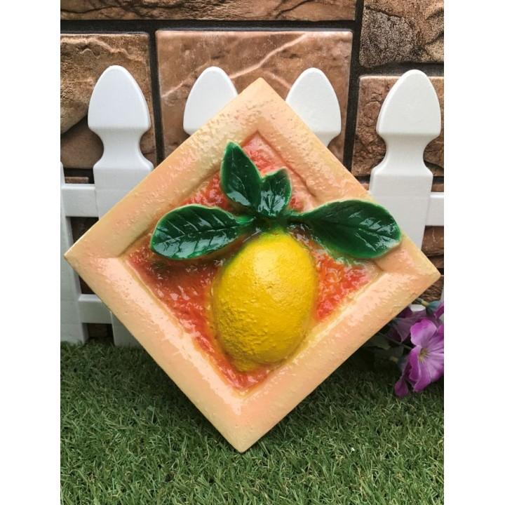 Статуэтка настенная Лимон