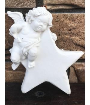 Статуэтка «Ангел купидон на звезде»