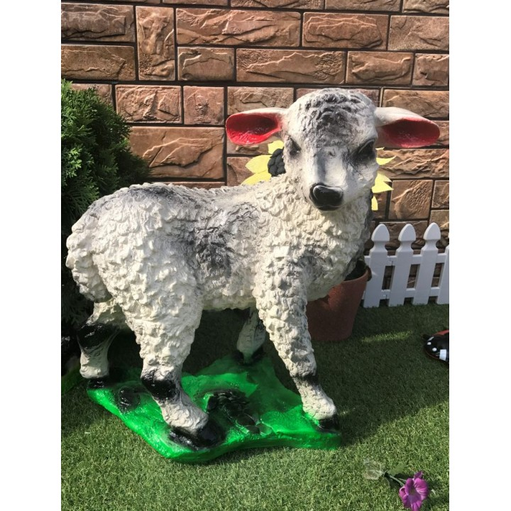 Садовая фигура Большая овечка