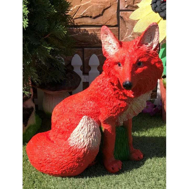 Садовая фигура лисы