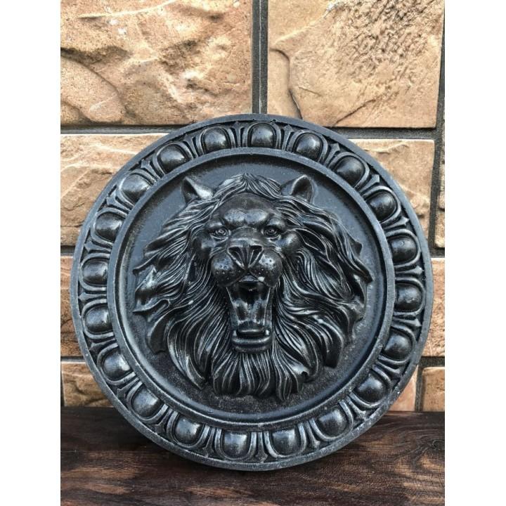Статуэтка головы льва