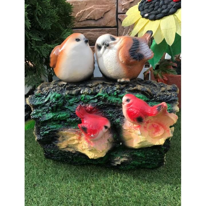 Садовая фигура птицы