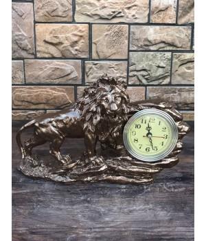 Настольные часы «Лев»