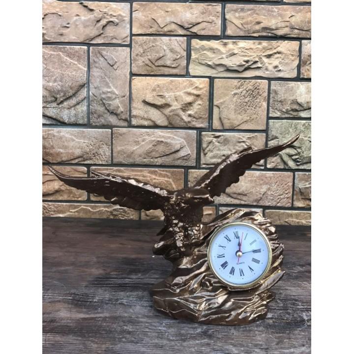 Настольные часы «Орёл»