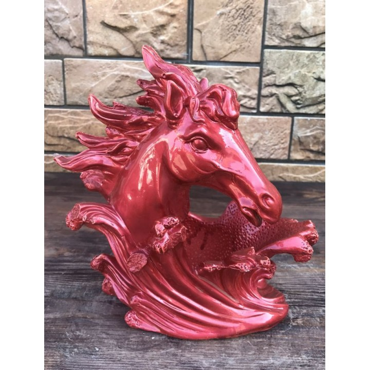 Статуэтка бутылочницы в виде коня