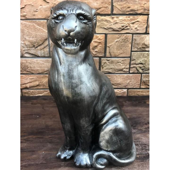 Статуэтка сидячей пантеры