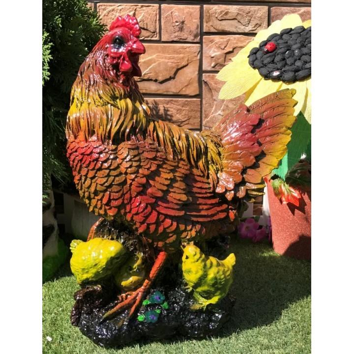 Садовая фигура курицы