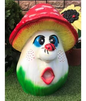Садовая фигура Гриб «Удивление»