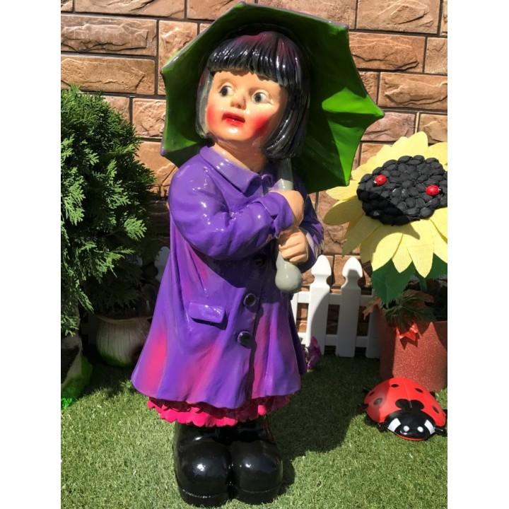 Садовая фигура девочки