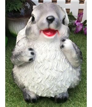 Садовая фигура Заяц толстый