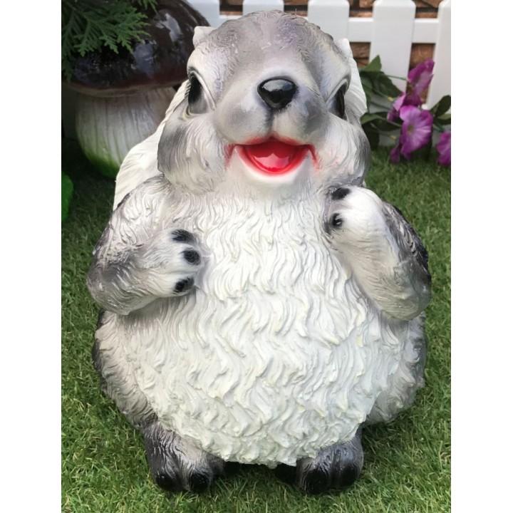 Садовая фигура зайца