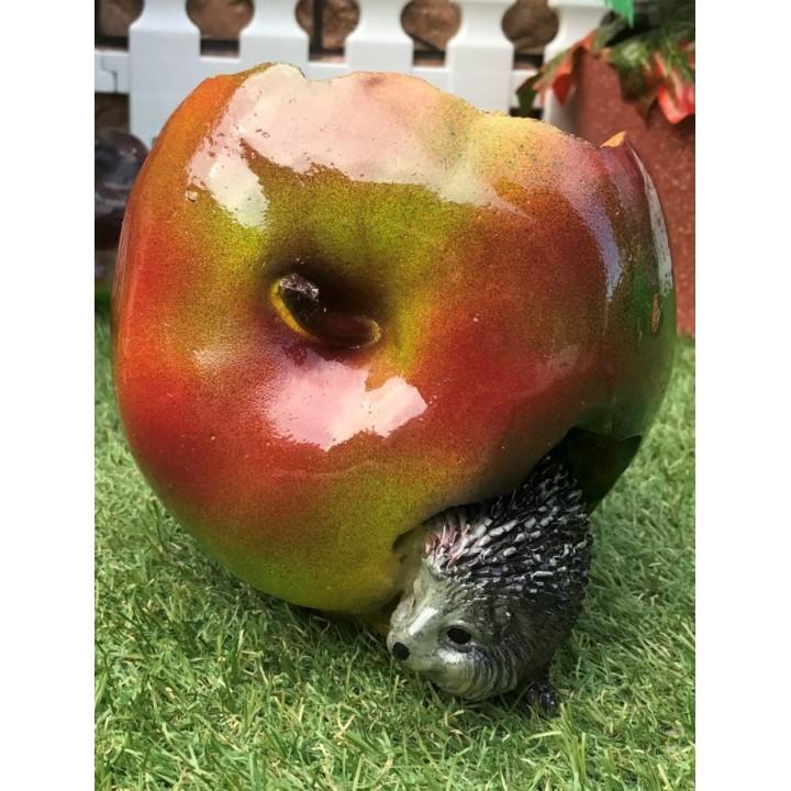 Кашпо Ёжик в яблоке