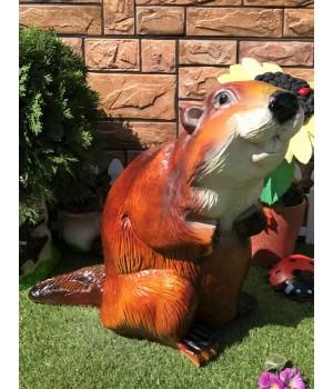 Садовая фигура Бобёр