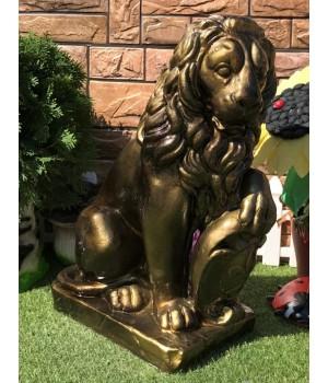 Статуэтка «Лев со щитом»