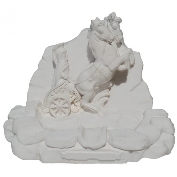 Статуэтка Пепельница Колесница Ахиллеса